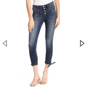 NWT WILLIAM RAST High-Waisted Skinny Jeans